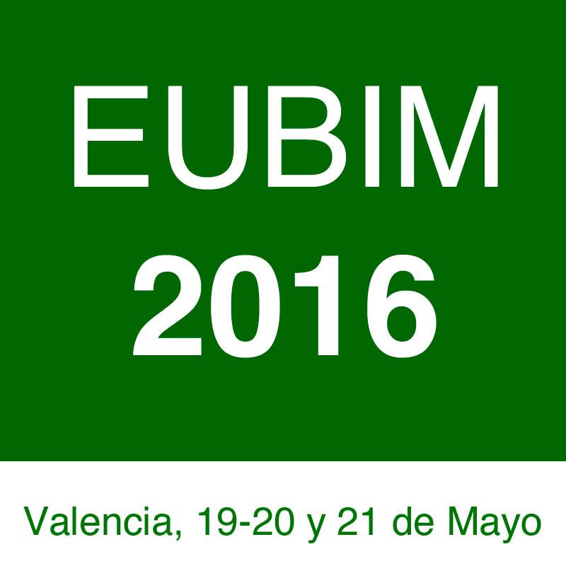 EUBIM 2016 - Congreso Internacional BIM